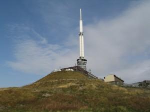 Station météo sur le Puy de Dôme